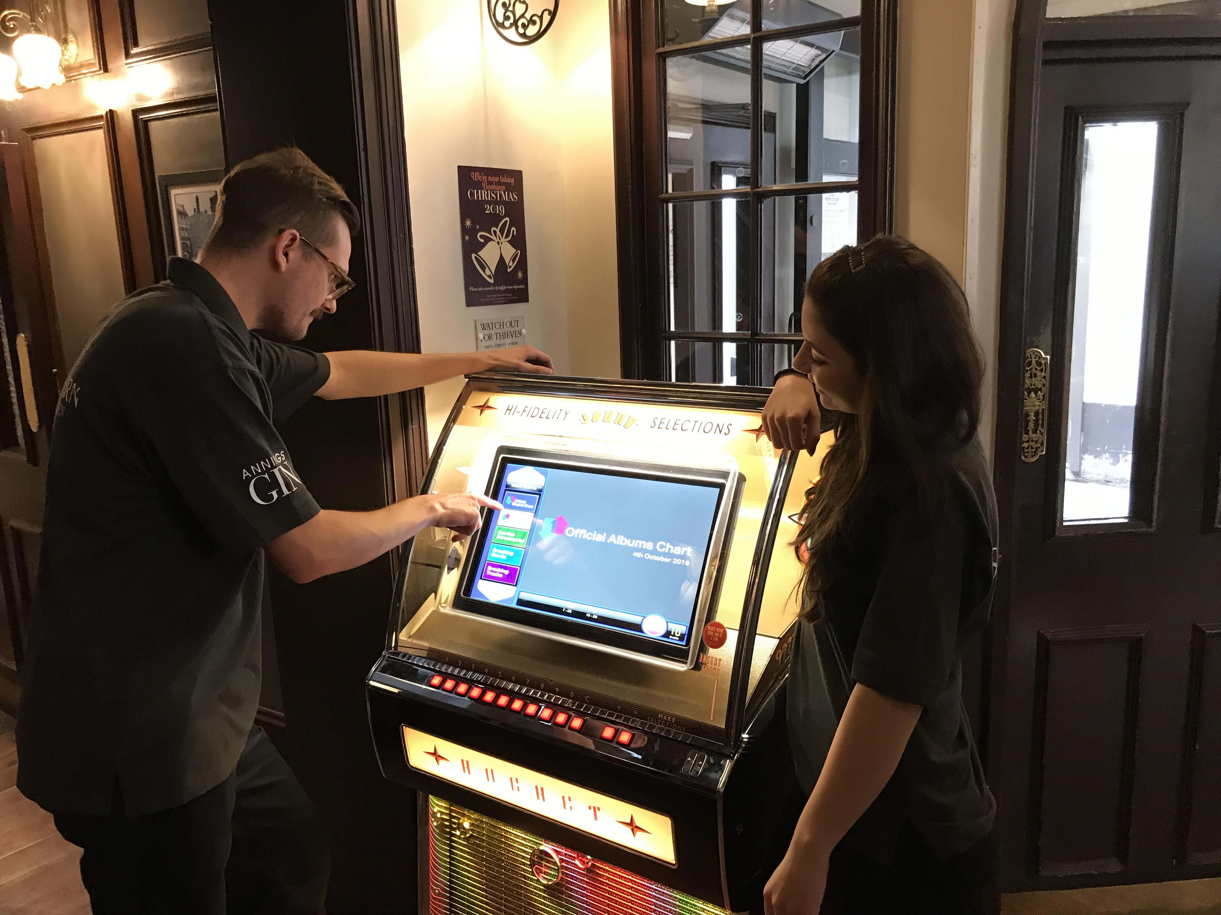 Classic Jukebox Takes Centre Stage at The Sun Tavern, Covent Garden, London